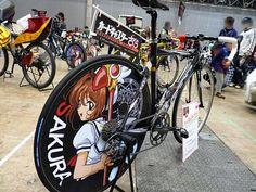 """Deco-Bicycle """"Itachari"""" of Cardcaptor Sakura, Macross Frontier, Rozen Maiden and More! - GIGAZINE"""