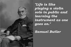 Samuel Butler, writer, born Dec. 4th, 1835