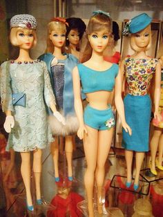 Vintage Barbie Jpapanese exclusives | Marilyn Silva collection |