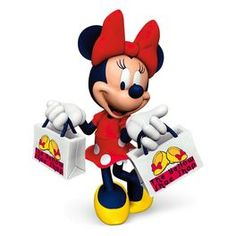 2016 Hallmark Disney Sassy Minnie Mouse Yellow Shoe Shop Ornament,