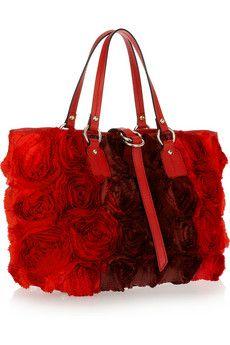 Valentino Shiny Napa Rose Bag | Bag L♡V£ | Pinterest | Valentino