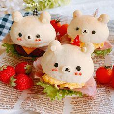2 個讚好,0 則回應 - Instagram 上的 haruharu(@haru_257_):「 ・ 2020.5.10 ・ ・ こんにちは(*¨̮*) ॰*✩ * ・ 今日のちょっと早いお昼ごはんはリラックマのハンバーガーでした🍔🐻🍔🐻 ・… 」 Mini Burgers, Hello Kitty, Cute, Bread, Fictional Characters, Instagram, Mini Hamburgers, Kawaii, Brot