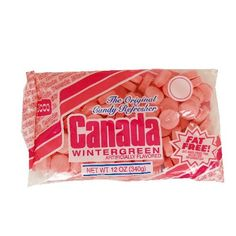 Canada Mints Wintergreen - 12 oz by Necco Candy in Mint Candy   1950's Candy at Hometown Favorites Retro and Nostalgic Candy - Hometown Favorites