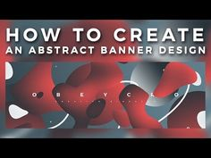 (1) Photoshop Tutorial: Creating an Abstract Banner Design - YouTube