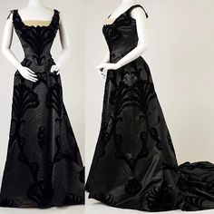 Evening dress, by the House of Worth, ca. 1898-1900. Metropolitan Museum of Art ❤️❤️❤️