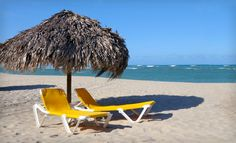 Cabarete, Dominican Republic (would love to be sitting in these yellow chairs with my ladies again) :)