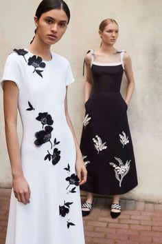 CAROLINA HERRERA | Mönster klänning, Kläder