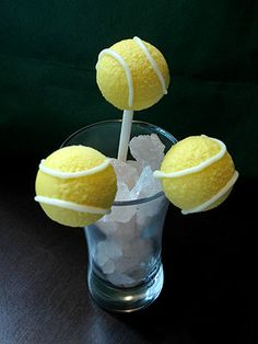 2013 US Open Tennis: Cake Pop Recipe