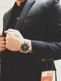 A fitted and time piece are at home in a casual and formal setting Fitness Watches For Women, Watches For Men, Waterproof Sports Watch, Blazer, Sport Watches, Mens Fashion, Argos, Digital, Gentleman