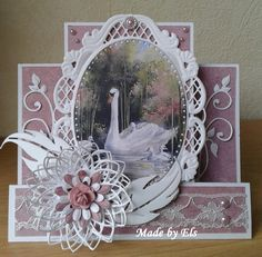 Mooi trapjeskaart, Filigree step card
