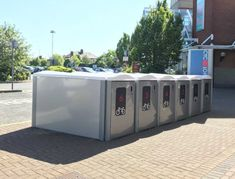 Bike Locker, Parking Solutions, Bike Parking, App Store Google Play, Shopping Center, Lockers, Cyclists, Centre, Ireland