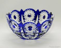 Ólomkristály kínáló Decorative Bowls, Objects, Crown, Crystals, Jewelry, Home Decor, Corona, Jewlery, Decoration Home