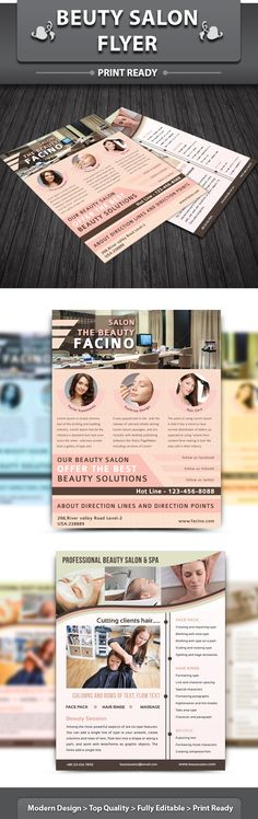Spa Brochure Design Spa pegs Pinterest Brochures, Leaflet - spa brochure template