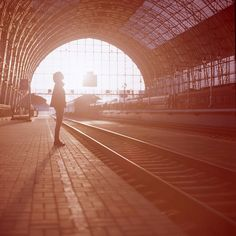 This reminds me of the train station in Prague...a fond memory!