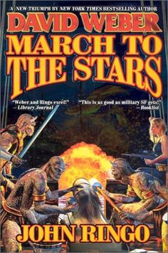 March to the Stars by John Ringo. Prince Roger and the Bronze Barbarians are nearing their goal, but they have lost much on the journey. Will they have what it takes to finish the mission?