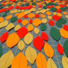autumn leaves garland 7