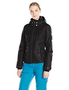 Obermeyer Womens Dakota Insulator Jacket Black 14 ** You can find out more details at the link of the image.(This is an Amazon affiliate link and I receive a commission for the sales)