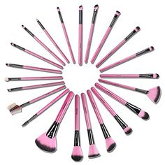$45.99 - Docolor(TM) 22Pieces Wooden Handle Professional Makeup Brush Set High Quality Cosmetic Tool Kit http://www.amazon.com/dp/B01A6G7D9S/ref=cm_sw_r_pi_dp_h4K6wb0WN6GAQ