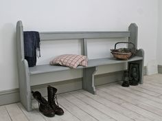 Distressed Victorian Church Pew - For Sale | Distressed But Not Forsaken