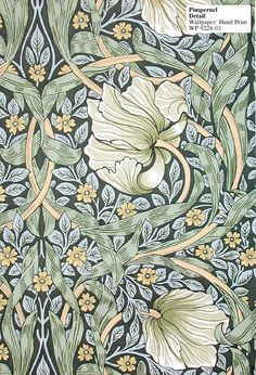 William Morris - Pimpernel Hand Print - WP 9226-01 $479 per roll