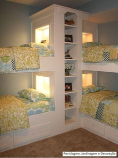 How clever is this, especially for large families with minimal space