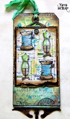 yaya scrap & more: 12 Tags of 2012 : tag June