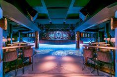 """""""el cielo""""  de Madrid . Discoteca Teatro Barceló. Diseño Cuarto Interior"""