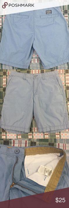 Columbia Shorts Blue Men's Size 34 100% Cotton Brand: Columbia  Condition: This item is in Good Pre-Owned Condition! There are NO Major Flaws with this item, and is free and clear of any Noticeable Stains, Rips, Tears or Pulls of fabric. Overall This Piece Looks Great and you will love it at a fraction of the price!  Material: Shell: 100% Cotton  Lining: 65% Polyester 35% Cotton Lining Size: 34 Waist 💥Top Rated Seller 💥Top 10% Seller 💥Top 10% Sharer 💥Posh Mentor 💥Super Fast Shipping…