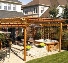 heavenly haven diy pergola over hot tub with a timber frame ... - Patio Ideas With Hot Tub