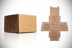 Rapid Packing Container: La caja de cartón del futuro   NiceFuckingGraphics!