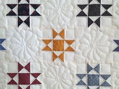 Little Ohio Stars Quilt -- superb cleverly made Amish Quilts from Lancaster (hs7058)