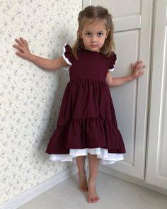 Trendy Baby Cute Dress Children – Best for Kids Baby Girl Romper, Baby Dress, Baby Girl Fashion, Kids Fashion, Elegant Dresses, Cute Dresses, Little Girl Dresses, Girls Dresses, Baby Girl Crochet Blanket