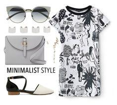 """""""Chic Minimalist Style"""" by joslynaurora on Polyvore featuring moda, Meli Melo, Maison Margiela, Minimaliststyle, beautifulhalo y bhalo"""