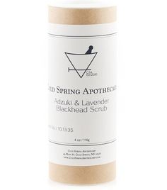 7. Cold Spring Apothecary Adzuki Bean Blackhead Scrub - 7 Beautifying Facial Cleansing Powders You Can't Pass up ... → Skincare