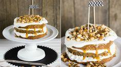 Kávový dort s kardamonem, ořechy a karamelem Foto: