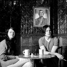 Meg White & Jack White in Coffee and Cigarettes (dir. Jim Jarmusch)