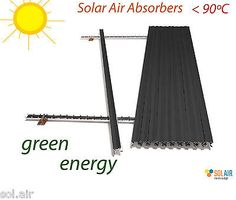 Alum. Solar Absorbers PACK 20pcs 120x61cm DIY Air HOT Thermal Heating Collectors - http://home-garden.goshoppins.com/home-improvement/alum-solar-absorbers-pack-20pcs-120x61cm-diy-air-hot-thermal-heating-collectors/