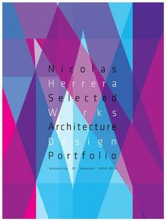 architecture Portfolio- THE GRAPHICS IN HERE ARE AMAZING