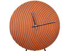 Riptide Wall Clock modern ceramic industrial by VoStudioCeramics, $34.00