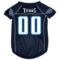 Tennessee Titans Dog Jersey NFL Dog Football Jerseys