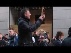 "Flashmob -- ""Jingle Bells"" (percussion with kitchenware, etc.), Stockholm, 2012 Nov"