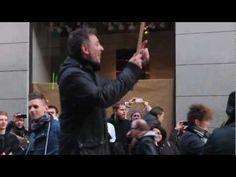 "Flashmob -- ""Jingle Bells"" (percussion with kitchenware, etc.), Stockholm, 2012…"
