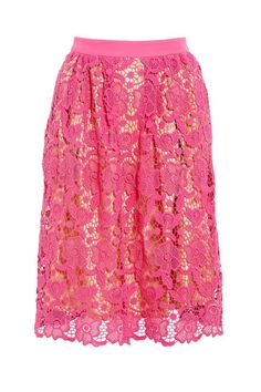 Sashay into spring in a bright lace Malene Birger skirt