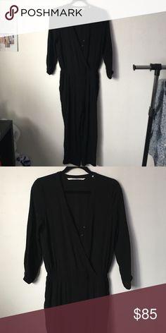 Cynthia Vincent Black Jumpsuit Gently worn, no flaws Cynthia Vincent Dresses Maxi