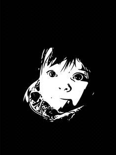 #vectorgraphic #portrait #baby