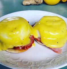 Homemade Eggs Benedict for Sunday Brunch