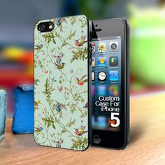 TP264 Hummingbird pattern Iphone 5 case | TheYudiCase - Accessories on ArtFire