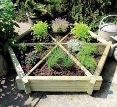 Love this herb garden
