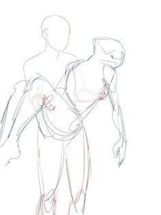 bases (Y Algunas Referencias) de dibujo - cola de sirena,dulce y corazones - Wattpad Body Drawing Tutorial, Drawing Reference Poses, Drawing Tips, Drawing Ideas, Learn Drawing, Drawing Techniques, Drawing Themes, Couple Poses Reference, Manga Drawing Tutorials