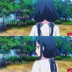 Puoi prendere tutte le tue parole e le tue bugie perché io non ti vorrò mai più nella mia vita.